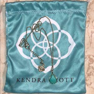 Kendra Scott turquoise pendant